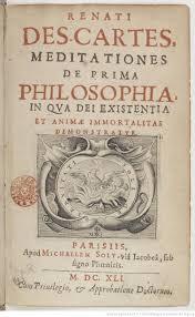 original title page for the first latin edition of the  original title page for the first latin edition of the meditationes de prima philosophiaby rene descartes 1641