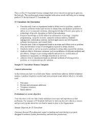 98 Business Consultant Resume Apartment Leasing Consultant