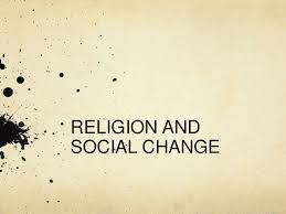 religion and social change