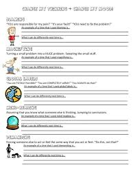 anger management worksheet worksheets cbt and change anxiety for ...