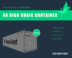 40 high cube shipping container the