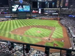 Chase Field Section 319 Home Of Arizona Diamondbacks