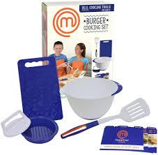 MasterChef Junior Burger Cooking Set, Cooking & Baking Kits - Amazon Canada