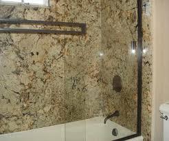 one large slab for shower walls instead