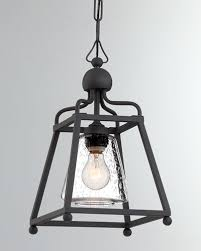 quick look prodselect checkbox libby langdon sylvan 1 light black forged outdoor pendant