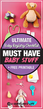 Baby Stuff Checklist Must Have Essential Baby Stuff For Your Registry Cape