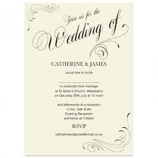 Invitations Formal Formal Wedding Invitations