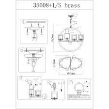 <b>Люстра Newport</b> 35000 <b>35008</b>+<b>1</b>/<b>S brass</b> купить в интернет ...