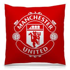 """Подушка 40х40 с полной запечаткой """"<b>Манчестер Юнайтед</b> ..."""