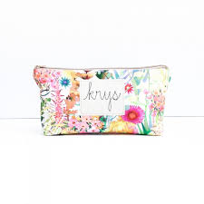 keep everyone smiling with these o gorgeous makeup bags from designbyrube