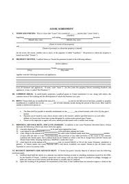 You must ensure that you comply with all applicable laws in your state. 50 Sample Lease Agreements In Pdf Ms Word Excel