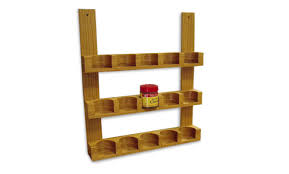 How To Build A Spice Rack Adorable How To Make A Wooden Spice Jar Rack Startwoodworking