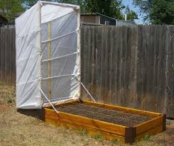 raised garden cover bed vegetable covers