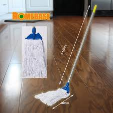 homebase heavy duty aluminium commercial mop free 1 extra refill