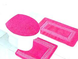pink bathroom rugs bath rug lovely for lighting rose lawn light dark and black zebra r