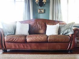 how to paint leather furniture she holds dearly