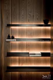 Floating Bar Shelves With Lights Shelving Light You Can Achieve This Using Formed Lighti On