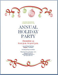 Holiday Flyer Template Word Holiday Office Party Flyer Templates Lera Mera Business Document