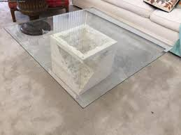 marble base glass top coffee table designs