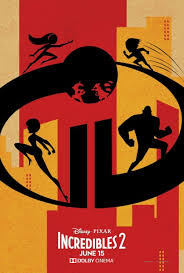 incredibles 2 official poster.  Poster The Minimalist Design Is A Direct Contrast To The Official Movie Poster  Which Features More Characters And Action Silhouettes Here Of Super Parrs  In Incredibles 2 Official Poster S