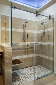 image of sliding glass shower door rollers