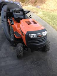 husqvarna riding mower with bagger. 42\u2033, 18 hp, ride in tractor husqvarna riding mower with bagger