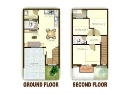 two story house plans small
