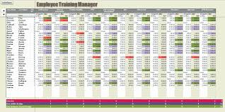 Employee Training Tracking Template Access Employee Training Database Template Demarrer Info