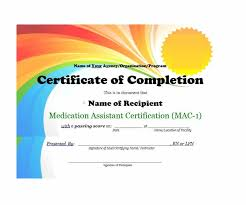 Microsoft Word Certificate Templates Gorgeous 48 Fantastic Certificate Of Completion Templates [Word PowerPoint]