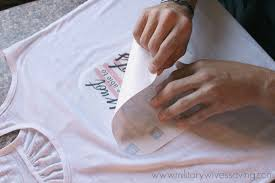 Making Own Tshirts How To Make Your Own Iron On Transfers With A Printer With