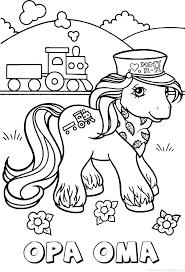 Opa Oma My Little Pony Naam Kleurplaat