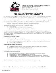 Student Objective For Resume Sample Job Objectives Resume Lovely