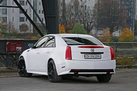 Cam-Shaft Wraps Cadillac CTS-V Sedan in Matte White and Pushes ...