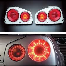 R34 Gtr Rear Lights Nismo Gt Led Tail Lamp Set Bnr34 Nissan Skyline Gt R 26550 Rnr45