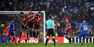 Leicester 1 Bournemouth 1 match highlights: Riyad Mahrez scores incredible  97th-minute free-kick to rescue point after Josh King's first-half penalty