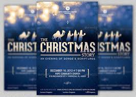 christmas event flyer template christmas event flyer poster template inspiks market