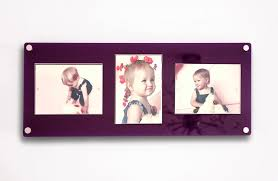 all colourscheshire acrylic easy change magnetic photo picture frame for 3x 5 x 7 7 x 5 photos
