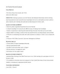 Resume Template For Teaching Position High School Education On