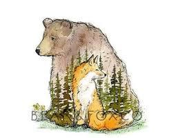 <b>Bear and fox</b> | Etsy