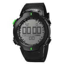 <b>honhx men</b> led digital alarm <b>sport</b> watch reviews – Online shopping ...