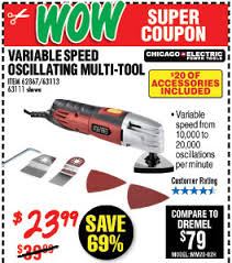 harbor freight oscillating multi tool. shop harbor freight. variable speed oscillating multi-tool freight multi tool