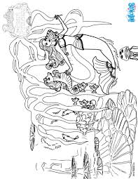 BARBIE In A MERMAID TALE Coloring Pages 61 Online Mattel Dolls At ...