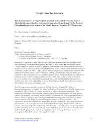 Sample Executive Memo Example Of Good Executive Summary Fiveoutsiders 12