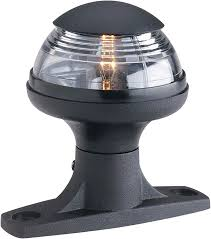 Attwood Bow Light Amazon Com Attwood 5980 1 Deck Mounted All Round Light 3