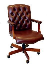 full grain leather executive office chair