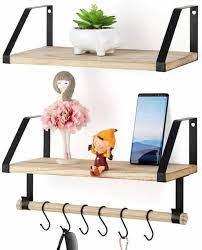 wall shelf storage wood wall mounted