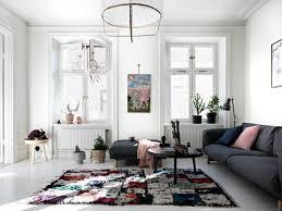 Kleurrijke Witte Woonkamer Inrichting Huiscom