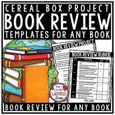 Cereal Box Book Report Sample - Radioberacahgeorgia
