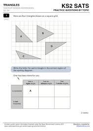 Maths Sats Questions