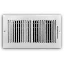 2 way wall ceiling register